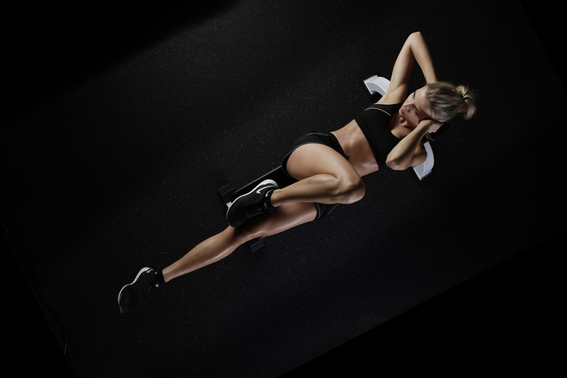 Abdominal Exercise Abdominal Trainer Action 416747