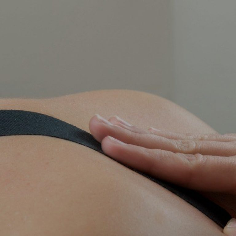 Black Kinesio Tape Picture Id619759034